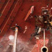 verflaag verwijderen van schip