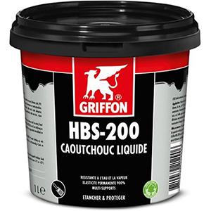 Griffon-HBS-200-liquid-rubber-1l-zwart