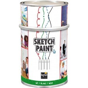 whiteboardverf sketch paint