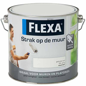 witte-verf-flexa-strak-op-de-muur