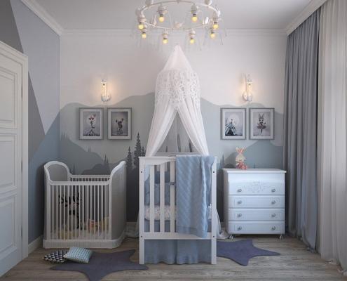babykamer schilderen