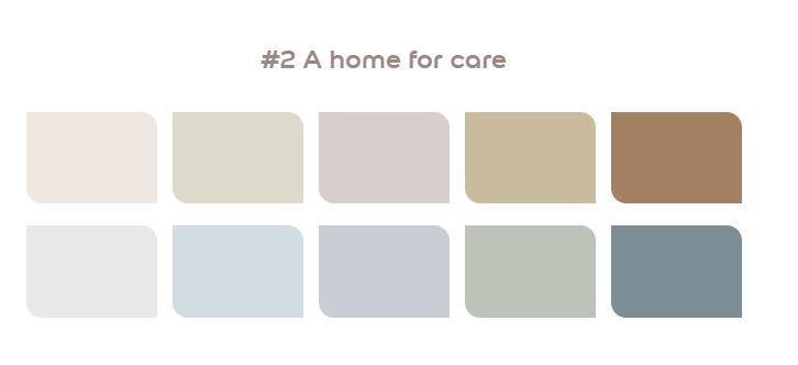 A home for care flexa kleurenpallet