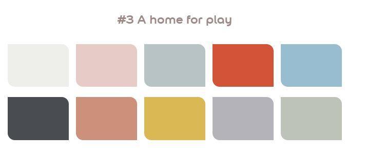 A home for play flexa kleurenpallet