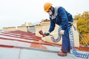 plat dakcoating rood