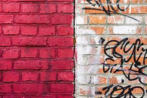 zelf graffiti verwijderen met remover
