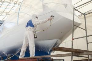 polyesterhars voor polyester reparatie
