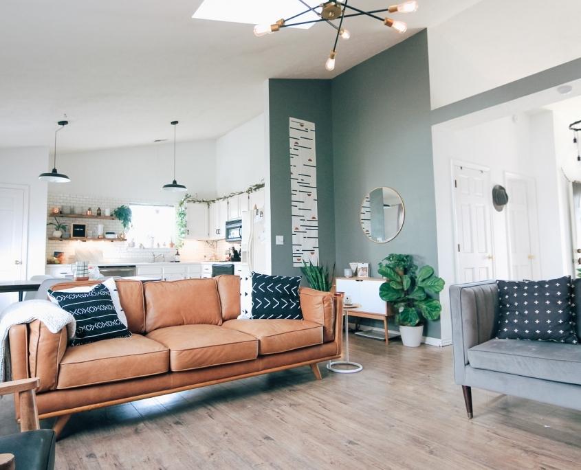 Haal lente in huis met een pastelkleur op de muur