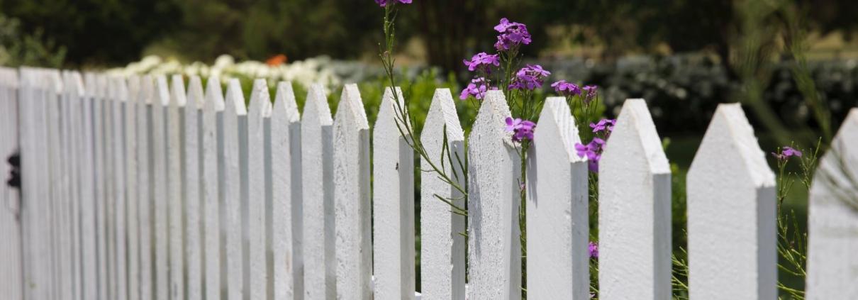wit hek tuinverf
